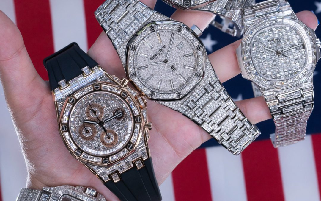 A Closer Look at Diamond Chandelier & BaguettesWatches