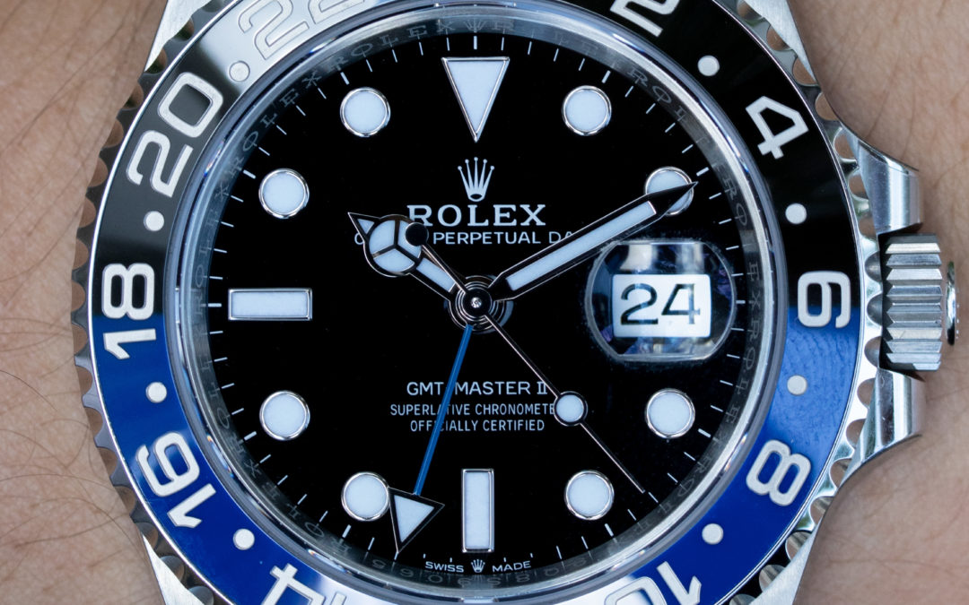 Rolex Luxury Watch: Rolex Batgirl Vs. Pepsi