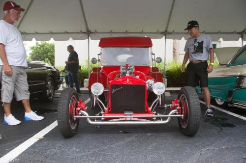 custom hot rod car show