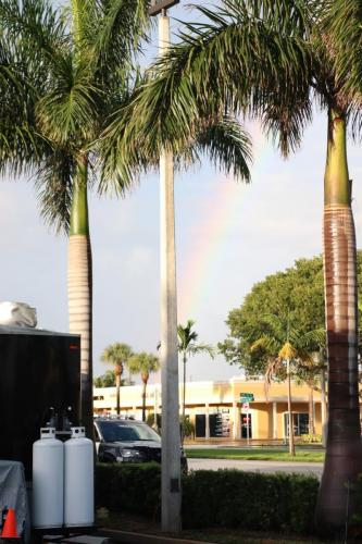 rainbow in east boca