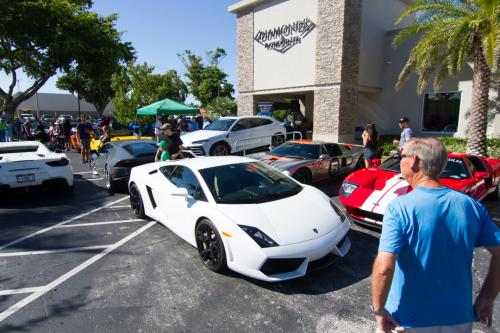 Diamonds and donuts charity car show