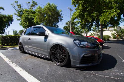 volkswagon gti bagged